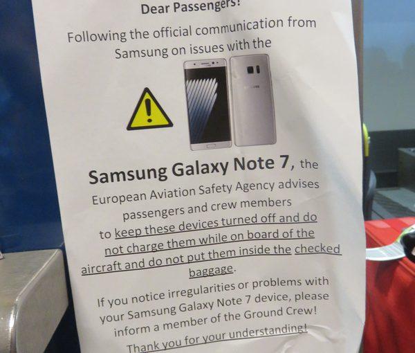 Problem med nya Samsungtelefonen